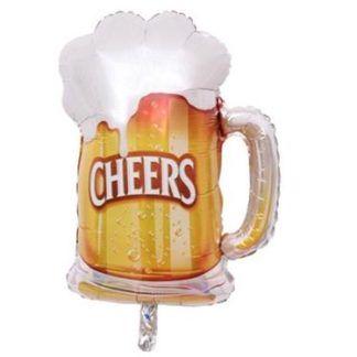 Balon foliowy w kształcie kufla z piwem