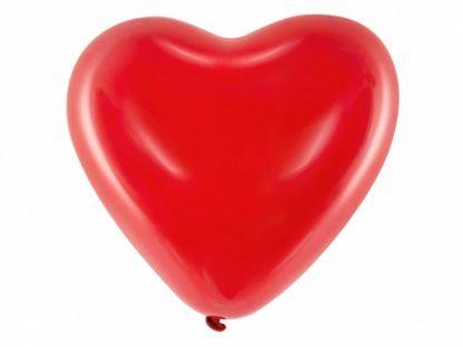 Balon lateksowy w kształcie serca
