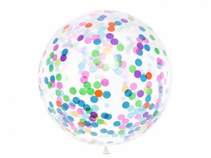 Balon lateksowy z konfetti