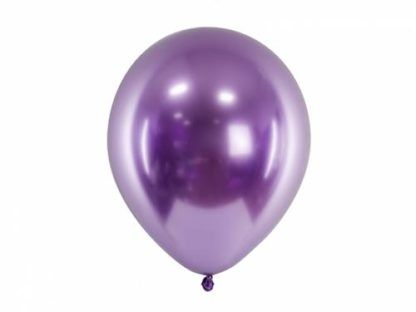 Fioletowy balon lateksowy