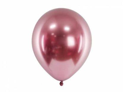Różowe złoto balon lateksowy