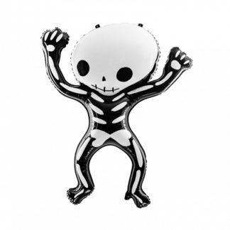 Balon foliowy w kształcie szkieletu człowieka
