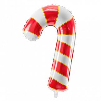 Balon foliowy w kształcie cukrowej laski