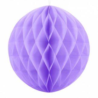 Liliowa kula z bibuły