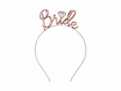 "Opaska z napisem ""Bride"""