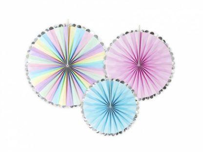 Fluorescencyjne rozety dekoracyjne