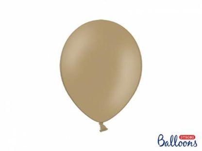 Brązowy balon lateksowy