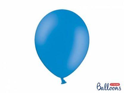 Niebieski balon lateksowy
