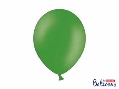 Ciemny zielony balon lateksowy