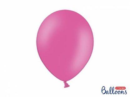 Ciemny różowy balon lateksowy