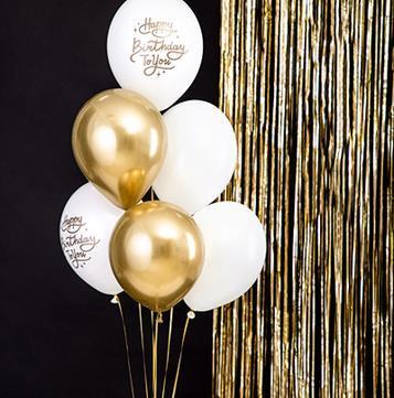 Zestaw balonów lateksowych na urodziny