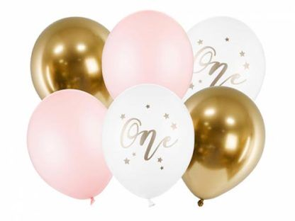 Zestaw balonów w różnych kolorach