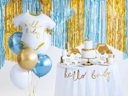 Zestaw dekoracji na baby shower