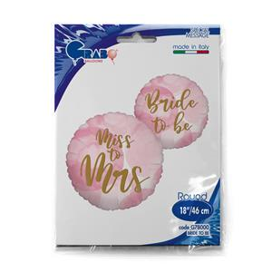 Różowe balony foliowe na wieczór panieński