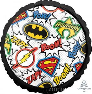 Balon z motywem superbohaterów
