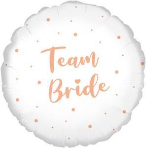 """Balon foliowy """"team bride"""""""