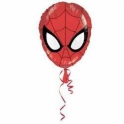 Balon foliowy w kształcie głowy spidermana
