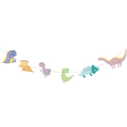 Baner z dinozaurami