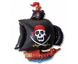 Balon foliowy w kształcie statku pirackiego