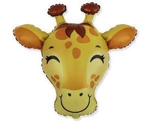 Balon foliowy w kształcie głowy żyrafy