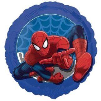 Balon foliowy ze skaczącym spidermanem