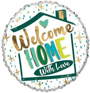 Balon foliowy na powitanie w domu