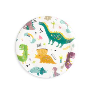 Talerzyki papierowe z motywem dinozaurów