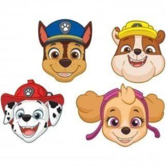 Maski dla dzieci z motywem Psiego patrolu