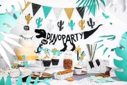 Przyjęcie urodzinowe w motywie dinozaurów