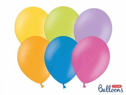 Mix pastelowych balonów lateksowych